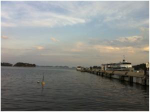 松島の遊覧船乗り場