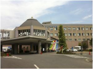 女川町立病院の外観