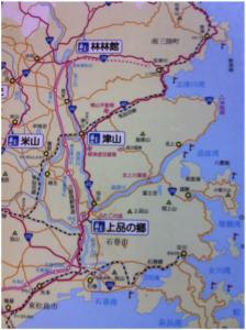 宮城県沿岸北部(石巻から南三陸町)の地図